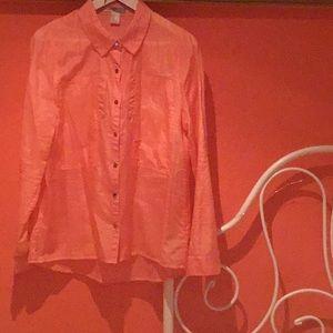 Silk looking shirt